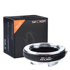Minolta MD Lens to Leica M Mount Camera Adapter M6 M8 M7 M9 Ricoh GXR A12