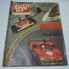 AUTOSPRINT n 18 (1974) ARCOBALENO ROSSO