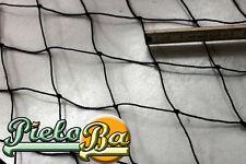 Volierennetz Tiergehege Netz schwarz Masche 5 cm Stärke: 1,2 mm Größe: 4 m x 5 m