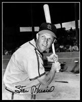 Stan Musial Autographed Repro Photo 8X10 - St. Louis Cardinals