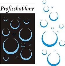 Schablone, Wandtattoo, Wandschablone, Malerschablone, Schablonen - Seifenblasen