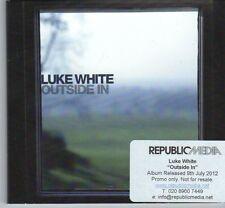(DX422) Luke White, Outside In - 2012 DJ CD