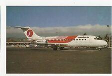 Hawaiian Air Douglas DC-9-15RC Aviation Postcard, A672