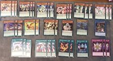 YUGIOH LEDD  55 CARD TOURNAMENT READY YUYA ODD-EYES/PERFORMAPAL/PENDULUM DECK