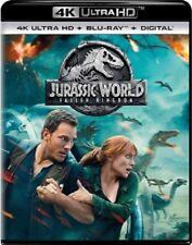 Jurassic World: Fallen Kingdom 4K UHD 4K (used) Blu-ray Only Disc Please Read