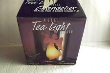 METAL ANGEL CHRISTMAS HOLIDAY TEA LIGHT CANDLE HOLDER