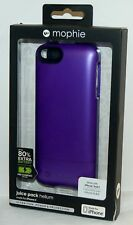 NEW Mophie Juice Pack Helium PURPLE Battery Case Apple iPhone 5/5s/SE Phone Pack