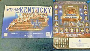 Set Of 2 Kentucky Men's Basketball 2020-2021 Posters UK Wildcats FREE SHIPPING