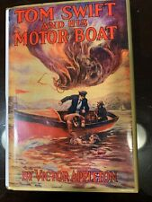 TOM SWIFT AND HIS MOTOR BOAT, #2. VICTOR APPLETON. FIRST EDITION REPRINT. MINT.