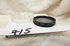 Hoya 49mm  Polarizer Filter PL- cleaned and checked crystal glass