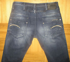G-Star Distressed Classic Fit, Straight 34L Jeans for Men