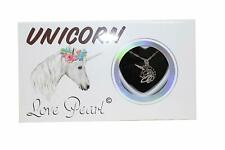 Love Pearl UNICORN Necklace Kit, Simulated Pearl in an Oyster