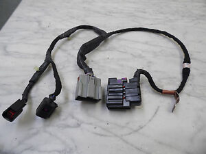 OEM 00-02 Lincoln LS Driver's Side Rear Door Power Wiring Harness/Loom Assembly
