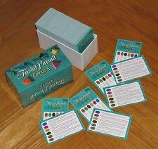 2000 Parker Brothers Trivial Pursuit Genus V 5 Card Set For Any Master Game