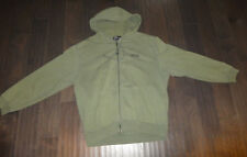 Polo Ralph Lauren Hoodie size XL zip up od green used