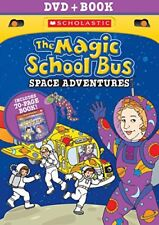 The Magic School Bus: Space Adventures (w / Book) [New DVD] With Book