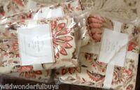 Pottery Barn Octavia Duvet Cover Set Red Queen 2 Standard Shams Paisley New