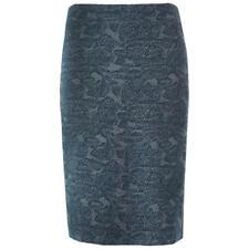 New BNWT White Stuff Sea green Leaf Jacquard Skirt UK 10