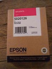 Genuine Epson S020126 Stylus Color 3000 Magenta Ink Cartridge RetlPak 2014