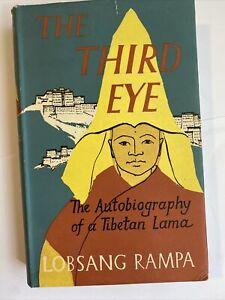 The Third Eye Autobiography Of A Tibetan Lama Lobsang Rampa Hardcover 1956