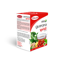 Morlife Teabags Guarana Spirit 25's x2 Box's | Organic Energy Herbal Tea