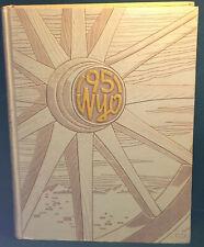 [BK] University of Wyoming Embossed 1951 Wyo Yearbook Volume XXXVIII 38 Laramie