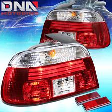 BLACK HOUSING LENS RED LED TAIL BRAKE LIHGHT/LAMP FOR 97-00 BMW E39 5-SERIES 4DR