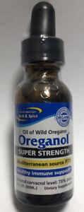 OREGANOL Oil of Oregano P73 SUPER STRENGTH 1 FL Oz North American Herb and Spice
