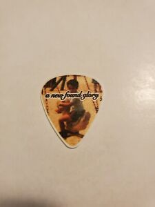 *NEW FOUND GLORY AUTHENTIC TOUR GUITAR PICK*