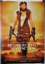 DS222 - Gerollt/KINOPLAKAT RESIDENT EVIL EXTINCTION Advance #2 Milla Jovovich