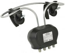 Mercury 130.023 Wideband Clamp-on Mixer Aerial With 4G/LTE Filter - 2 Outputs