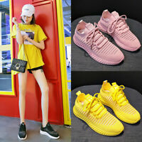 Womens casual Sports Shoe Trainers Sneakers running walking Athletic run shoes