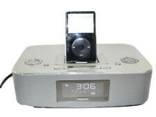 Philips RISE AND SHINE iPod Speaker Dock Station Clock Radio (iPod Not Incl)