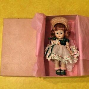 RARE 1953 Vogue strung Ginny PAMELA Debutante doll with ORIGINAL BOX & CLOTHES!