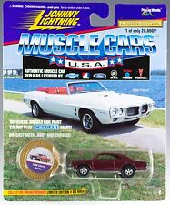 Johnny Lightning Muscle Cars USA 1966 Chevy Malibu Plum Purple Series 2 1996 MOC