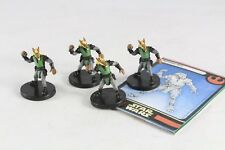 Star Wars Miniatures Rebel Storm Bothan Spy X 4