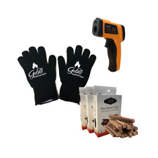 Gulati Tandoor Temperature Gun Gloves Fire Starter Strips for Charcoal Oven
