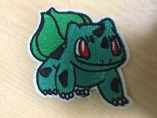 "Pokemon Bulbasaur Embroidered Iron/Sew ON Patch Cloth Sew Applique 2.75"" x 3"""