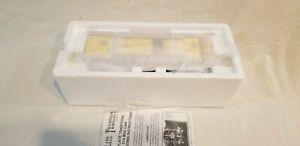 MTH Tinplate Traditions No. 214 Box Car 10-201 Yellow & Brown w/Nickel Trim