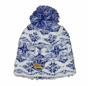 Adidas NBA Women's Golden State Warriors Cuffless Fashion Knit Hat