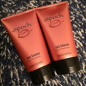 AUTHENTIC Nu Skin Nuskin Epoch Sole Solution Foot Treatment x 2 Brand NEW Sealed