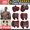 6 Kids Knee Elbow Pads Guards Protective Safety Gear Set Cycling Protective Gear