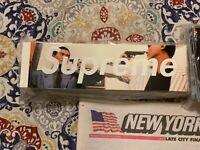 Supreme The Killer Box Logo BOGO Sticker FW18 Wk10