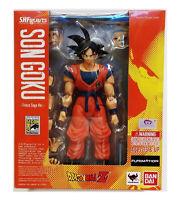Bandai S.H. Figuarts Dragon Ball Z Son Goku Frieza Saga Ver. 2015 SDCC Exclusive