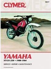 CLYMER YAMAHA XT125-250 1980-1984 (M417)