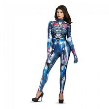 Disguise Optimus Prime Transformer Bodysuit Adult Womens Halloween Costume 22459