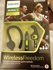 Philips ActionFit rrp £70 SHQ7900CL NEW SEALED BLUETOOTH sports earphones