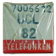 Radioröhre UCL82 Telefunken, mit Raute OVP ID16396