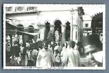 India, Calcutta, Temple de Kali  Vintage silver print. কলকাতা / कोलकाताPostcar