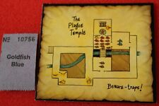 Games Workshop Advanced Heroquest Hero Quest Map Tile The Plague Temple New Card